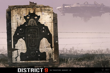 District 9 Alien shooting range movie poster district 9 7038826 1600 1200