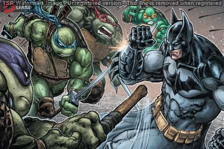 Batman vs. Teenage Mutant Ninja