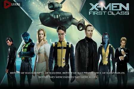 فیلم X-Men: First Class 2011